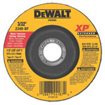 Dewalt Tools 4 1/2IN X 1/4IN X 5/8IN11 ZIRCONIA ABRASIVES