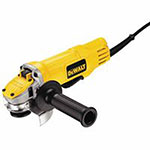 Dewalt Tools Small Angle Grinders, 4 1/2 in Dia, 9 A, 12,000 rpm, Paddle Switch