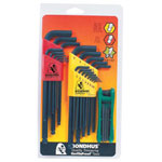 Bondhus Triple Pack Gorilla Gripfold-up Tool Set Bl