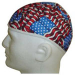 Comeaux Caps Skull Cap, Cotton, Assorted Colors, Large