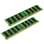 Kingston Memory - 1 GB : 2 X 512 MB - DIMM 184-pin - DDR