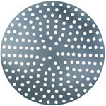 "American Metalcraft 12"" Perforated Aluminum Pizza Disk"