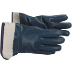 Boss Heavy Weight Blue Nitrile Glove Jersey Lined