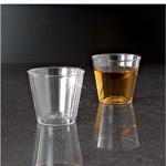 EMI Yoshi Plastic Shot Glass, 1 OZ, Clear