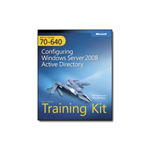 Microsoft MCTS Self-Paced Training Kit (Exam 70-640): Configuring Windows Server 2008 Active Directory - self-training course