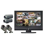 "Clover LCD26164 26"" All-in-One System - monitor + DVR + camera(s)"