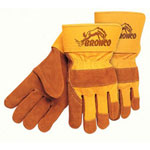 "Memphis Glove Bronco Side Leather Palmgloves 2-1/2"" Safe"
