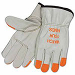 Memphis Glove Drivers Gloves, Industrial Grade Cowhide, Large, Unlined