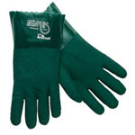 "Memphis Glove Green 12"" Gauntlet Jersey Lined Sandy"