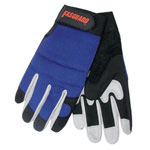 Memphis Glove X-Large Fasguard Glove Amara Leather Black Palm