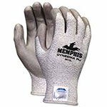 Memphis Glove Dyneema Blend Gloves, Large, Salt-and-Pepper/Gray