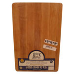 "John Boos & Company 18"" x 12"" x 1.25"" Reversible Wooden Cutting Board"