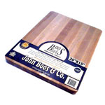 "John Boos & Company 20"" x 15"" x 1.25"" Reversible Wooden Cutting Board"