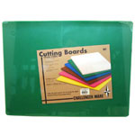 "Johnson-Rose 12"" x 18"" Green Cutting Board"