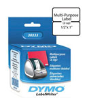 Dymo MultiPurpose - 2-up Permanent Adhesive Labels - 1000 Label(s)
