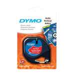 Dymo LetraTAG - Plastic Tape - 1 Roll(s)