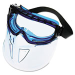 Jackson Safety Full Face Faceshield Blue Frame Anti Fog Clear L