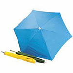 Wilson Umbrella, Green Canvas, 6.5' dia x 7' h