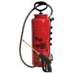 Chapin Concrete Sprayer, Coated Steel, 3 1/2 gal, 12 in Extension, 48 in Hose