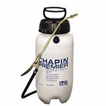 Chapin Premier Pro XP Sprayer, Poly, 2 gal, 12in Extension, 42in Hose, Translucent