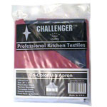 Challenger Red/White/Blue 1 Pocket Fixed Neck Bib Apron