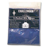 "Challenger 28"" x 30"" Royal 3 Pocket Adjustable Apron"