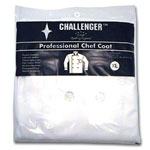 Challenger White XLarge 48-50 Check Coat