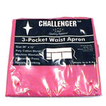 Challenger 3 Pocket Red Waist Apron
