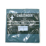 Challenger Teal Waist Apron with 3 Pockets