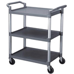 Thunder Group Bus Cart 3 Tier Gray