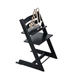 Stokke Tripp Trapp Wooden High Chair, Black