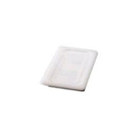 Rubbermaid White Cover Foodpan Lid 1/3 Soft Sealing