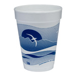 Dart Container Hot or Cold Foam Cup, 16 OZ