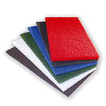 "Scrubble Type 47 Rectangle Pad, 14""x28"", Maroon"