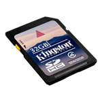 Kingston Flash Memory Card - 32 GB - SDHC