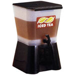 Tablecraft Beverage Dispenser, 3 GAL, Black