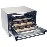 Cadco LTD 1/4 Size High Performance Convection Oven, 120 Volts