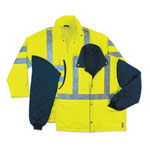 Ergodyne Glowear 8385 Class 3 4-in-1 Jacket 3xl Lime
