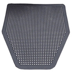 Impact Disposable Floor Mat, Gray