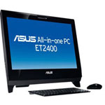 "Asustek All-in-One PC ET2400XVT - Core I7 740QM 1.73 GHz - 23.6"" TFT - With 3D Glasses"
