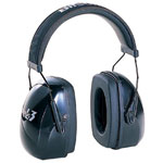 Howard Leight Leightning Earmuffs, 25 dB NRR, Gray, Behind the Head