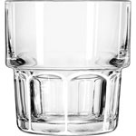 Libbey 15659 9 Ounce Duratuff Gibraltar Stacking Rocks Glass