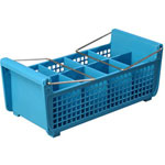 Carlisle Foodservice Products Flatware Basket with Handles