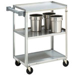 The Vollrath Company 3 Shelf Stainless Steel Utility Cart
