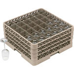 Traex 36 Compartment Glass Rack with 2 Compartment Extenders