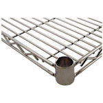 "Challenger Wire Chrome Shelf, 18"" x 18"""