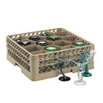 Traex 12 Compartment Glass Rack with 2 Compartment Extenders
