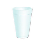 Dart Dart 16J16 White 16 Ounce Foam Cups
