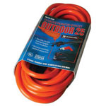 Coleman Cable 02407 25' 14/3 Sjtw-a Orange Ext. Cord 300v