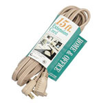 "Coleman Cable 03536 15"" Ac Cord 14/3"